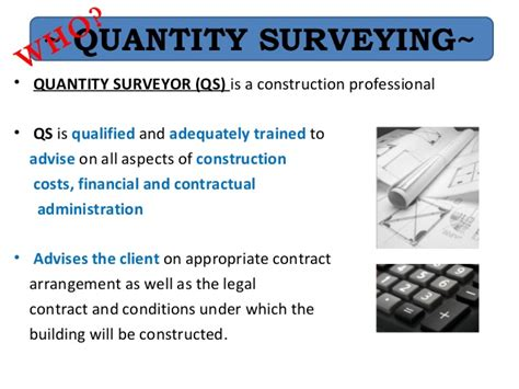 design and build contract quantity surveyor ibe quantity surveyor 2013