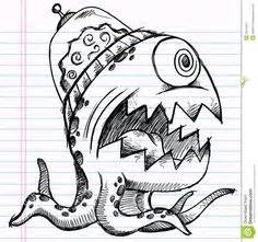 Galerry cartoon monster coloring pages