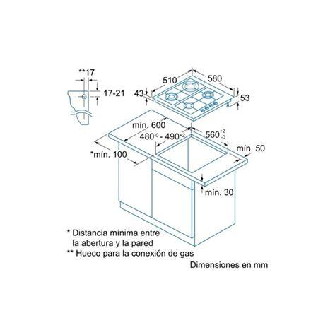 encimeras a gas butano encimera balay 3etx494b gas butano