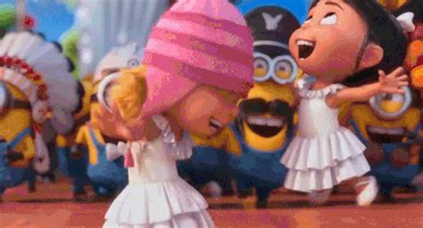 happy despicable me gif find & share on giphy