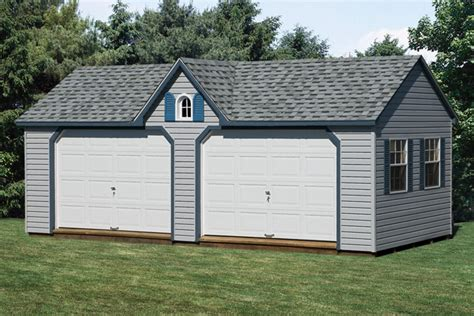 gable style garage  capitol sheds