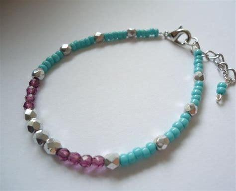 Handmade Beaded Bracelets - bohemian handmade beaded bracelet ooak hippie jewelry