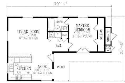 1 bedroom house plans page 2