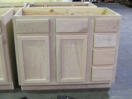 unfinished wood bathroom cabinets surplus building materials unfinished bathroom vanity