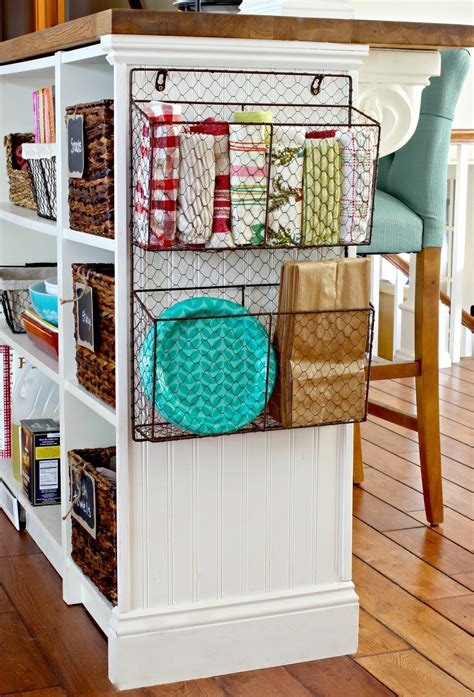 Cheap Kitchen Organization Ideas Golden Boys And Me Wire Baskets