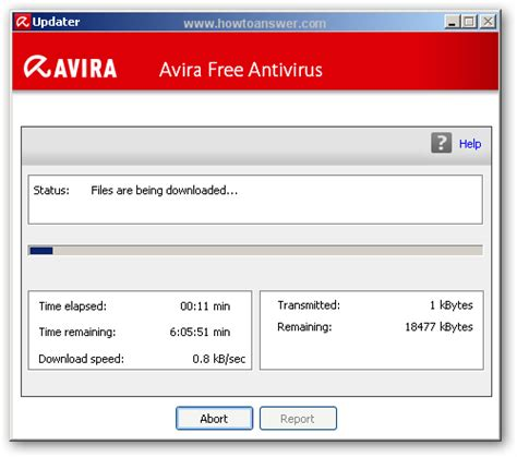 avira antivir virus definition file update download baixaki new update of avira antivirus