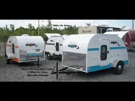 retro teardrop cer for sale teardrop trailers retro miller rv sales youtube