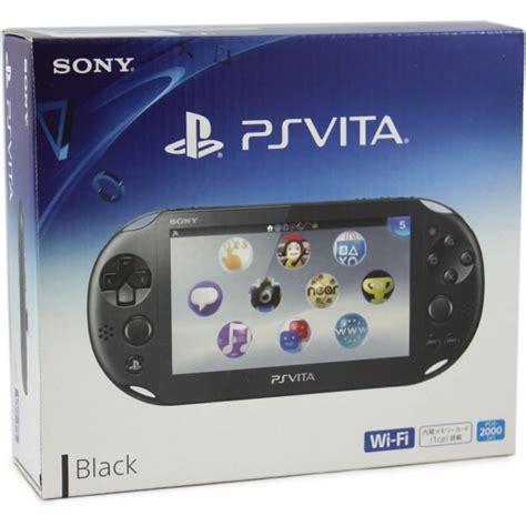 Psp Vita Pch 2000 - ps vita playstation vita new slim model pch 2000 black