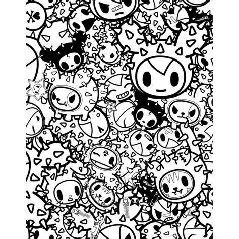 tokidoki coloring pages 9 best tokidoki images on coloring books