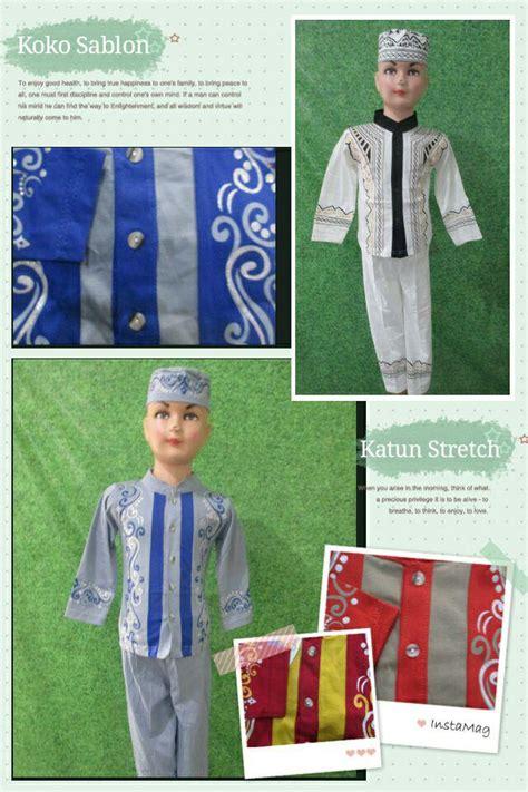 Baju Koko Anak Seri Komplit Size 3 koko sablon pusat grosir baju pakaian murah meriah 5000