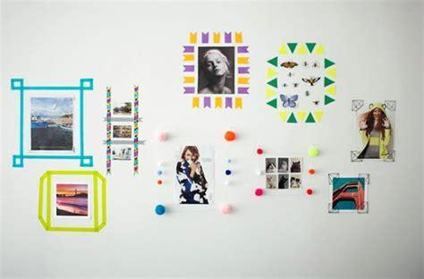Best Way To Hang Pictures Without Damaging The Wall 4 formas de enmarcar im 225 genes en la pared gu 237 a de