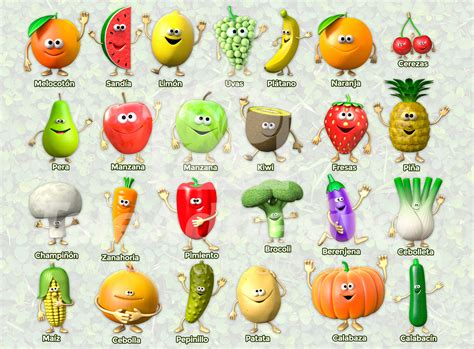 b fruit x fruits and vegetables