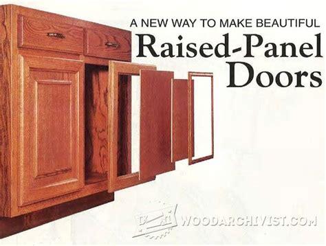 Making Raised Panel Doors   Cabinet Door Construction