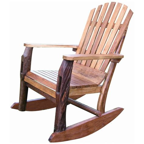 Patio Furniture Rocking Chair Groovystuff 174 Adirondack Rocking Chair 235578 Patio Furniture At Sportsman S Guide