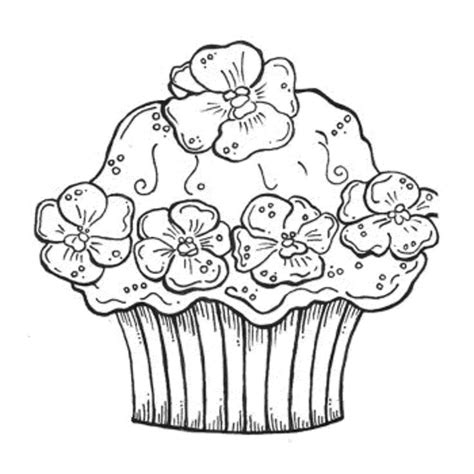 big cupcake coloring page 58 best happy birthday coloring pages images on pinterest