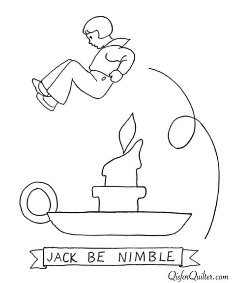 Nimble Coloring Page be nimble coloring page coloring home