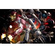 Marvel Avengers Age Of Ultron Iron Man And Captain America