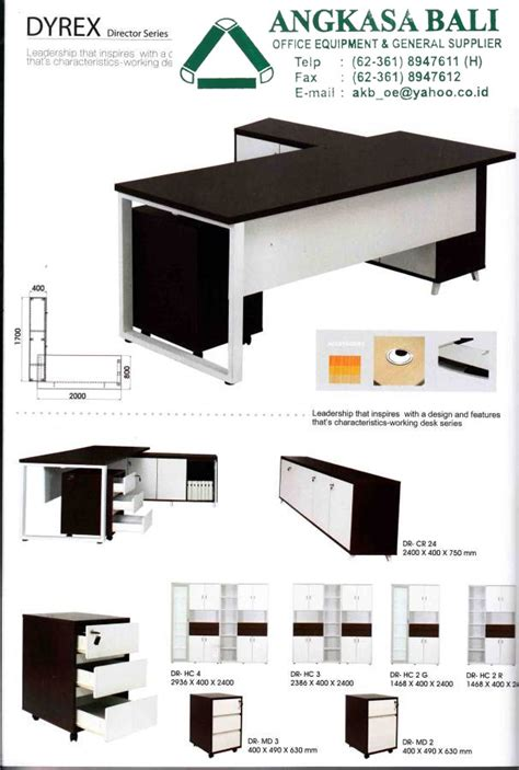 Meja Komputer Di Bali angkasa bali supplies office furniture office equipment in