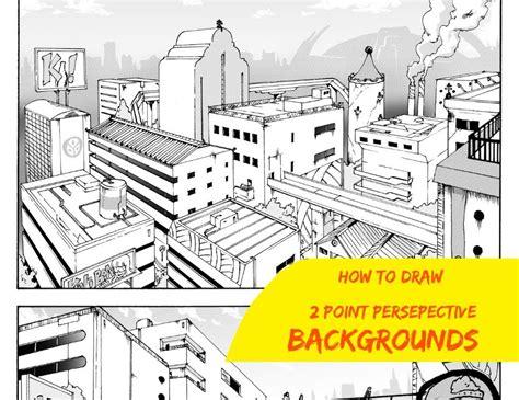 how to draw backgrounds how to draw backgrounds shonen ep 2
