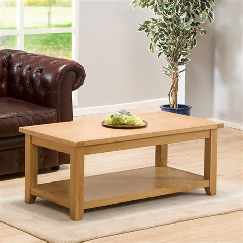 buy stirling oak coffee table from our coffee tables range