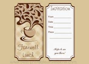farewell lunch invitation email template farewell lunch invitation
