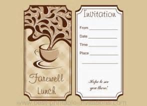 Sample invitation letter for farewell lunch ayo ngaji sample invitation letter for farewell lunch 4 stopboris Gallery