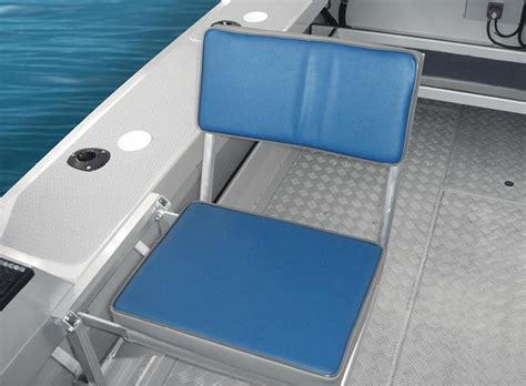 side folding boat seats surtees boats optional extras boat trailer accessories