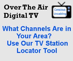 tv station locator tool over the air digital tv