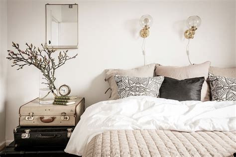 modern vintage bedroom modern vintage interior design in swedish apartment