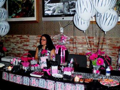 Zebra Pink Baby Shower by Pink Zebra Baby Shower A To Zebra Celebrations