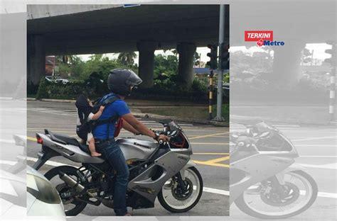 Gendong Bayi 5 Bulan viral gambar gendong bayi 5 bulan di belakang naik motor