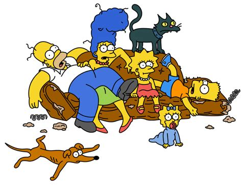 how to draw the simpsons on the couch the funniest seat in the house a tribute to the simpsons