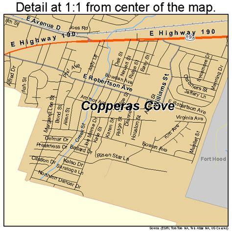 copperas cove texas map copperas cove texas map 4816624