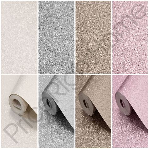 große len für hohe räume muriva texturiert metallic schimmer tapete rosa gold wei 223