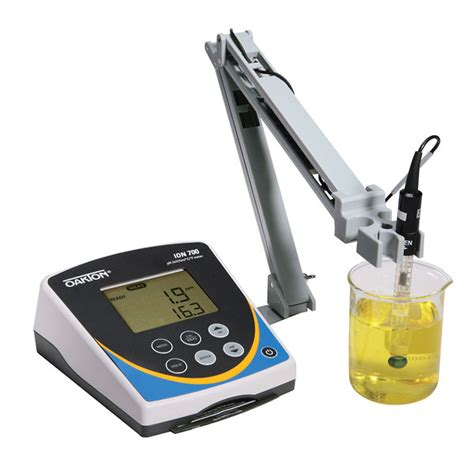 bench com ph oakton ion 700 benchtop meter with electrode stand from