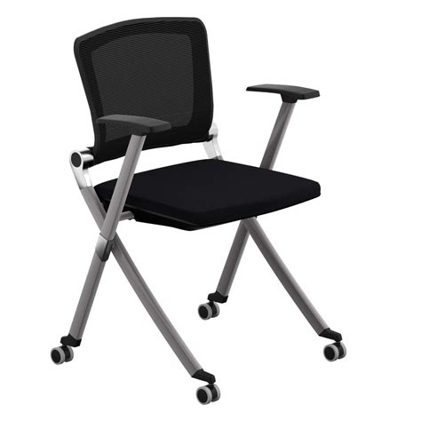 folding office chairs folding desk chair best home design 2018