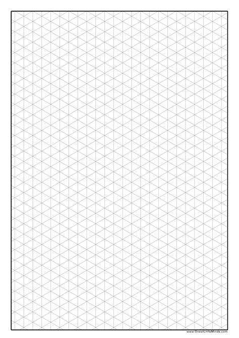 printable isometric dot graph paper graph paper to print isometric paper