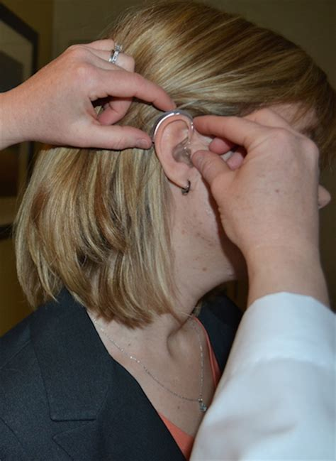 ponytail hearing aid top five ways hearing aids make you look good