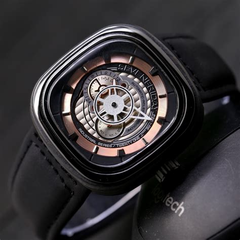 jam tangan pria sevenfriday new series seven friday kulit