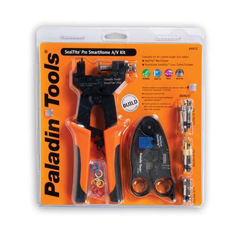 smart house tools paladin tools pa4915 sealtite pro for the smart home a v kit