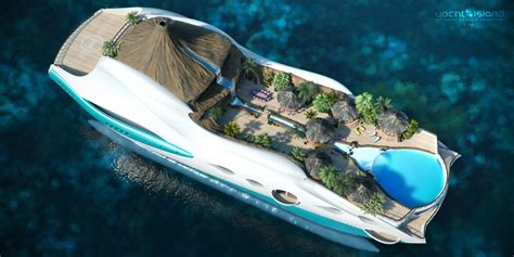 yacht island design yacht island design introduces incredible island on a yacht concept picture 628264 boat news