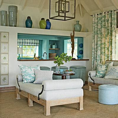 Coastal Living Home Decor | island decor with underwater tints