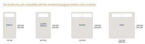Single Chair Bed Wood Furniture Singapore Amaya Wood Bed Frame Platform