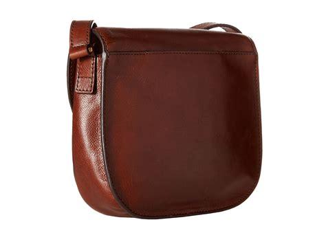 Fossil Emi Saddle Bag fossil emi saddle bag brown zappos free shipping