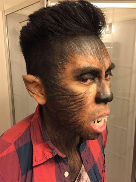 werewolf makeup tutorial male 15 ideas about wolf halloween makeup tutorial