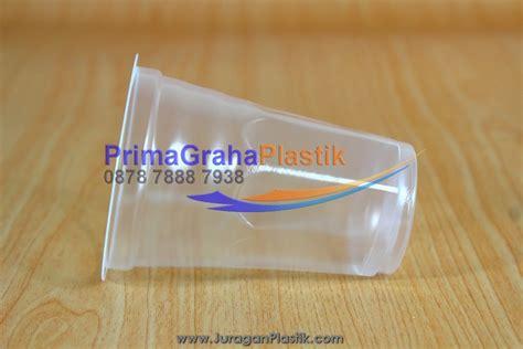 6 Pcs Gelas Plastik Warna 320ml gelas aqua 180 ml home