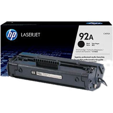 Tinta Hp 94 Black Original Berkualitas 1 hp 92a black original laserjet toner cartridge ce4092a original jual toner dan tinta printer