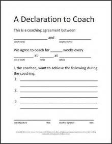 executive coaching agreement template coaching agreement images frompo