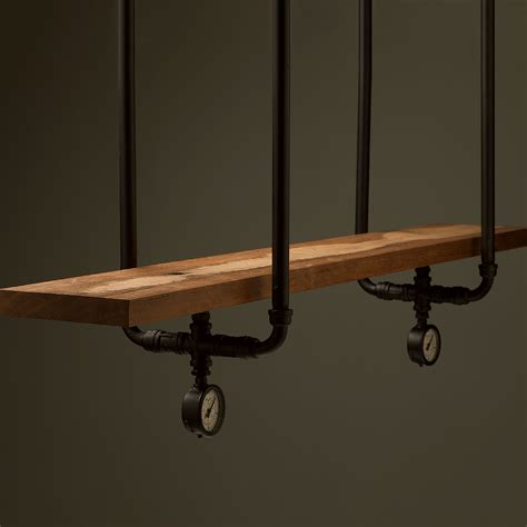 Bar Plumbing by Industrial Plumbing Pipe Overhead Bar Shelf Brackets