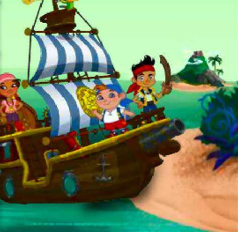 barco pirata de jake juego de jake y los piratas juegos